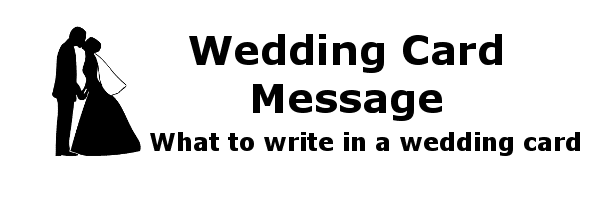 What To Write In A Wedding Card Wedding Card Message