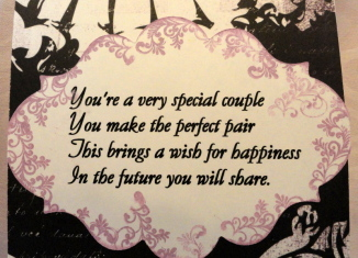 wedding verses for a card