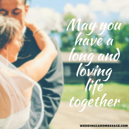 Wedding Card Wishes