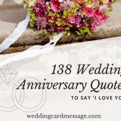 130 Wedding Anniversary Quotes to Say 'I Love You'