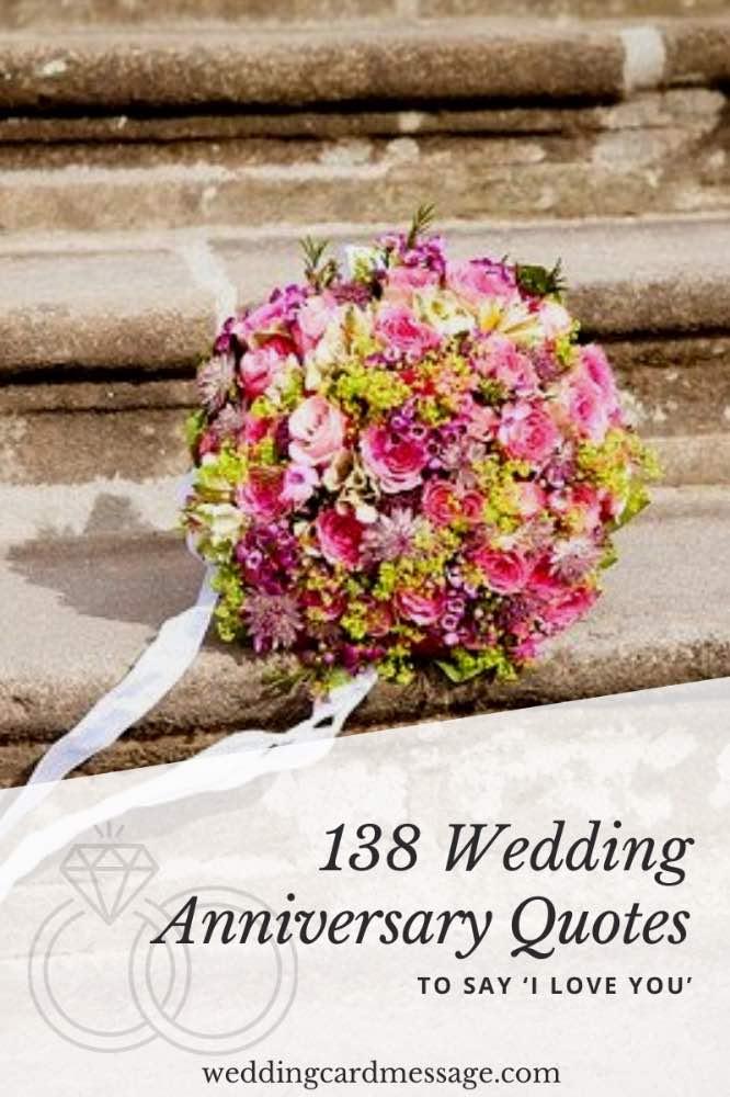Wedding anniversary quotes Pinterest