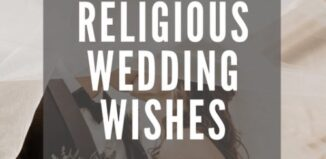 religious wedding wishes