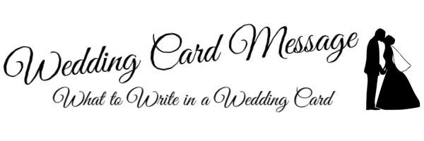 Wedding Card Message