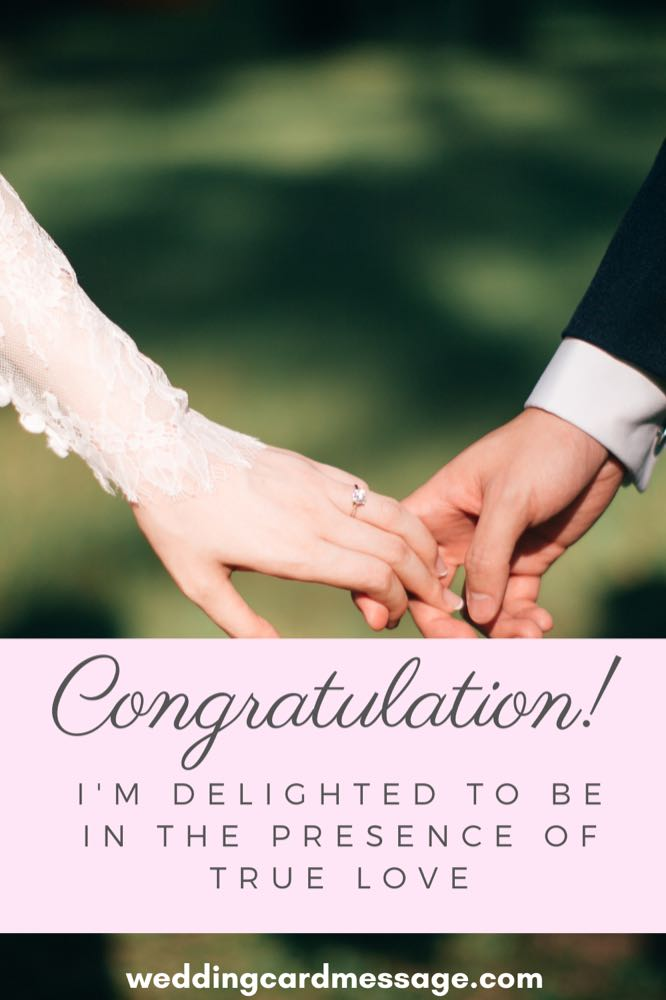 wedding congratulations message