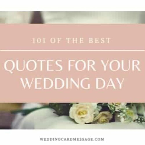 Wedding Quotes: 101 of the Best Quotes for Your Wedding Day