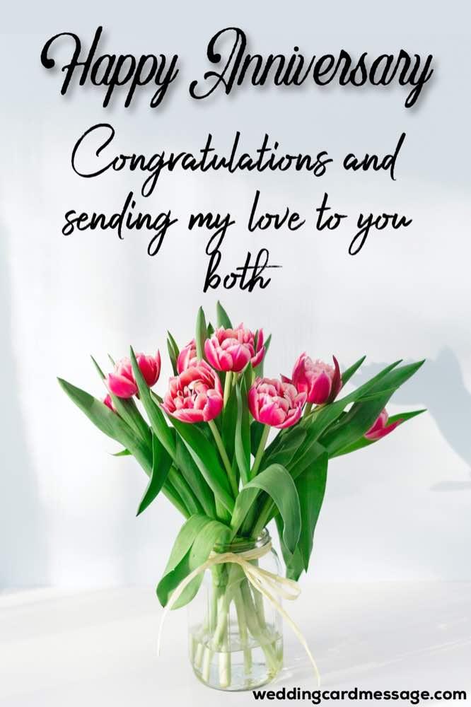 5th anniversary congratulations message