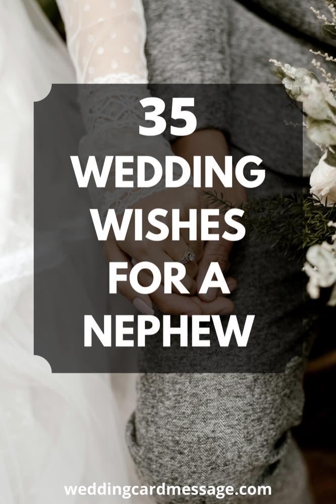wedding wishes for nephew