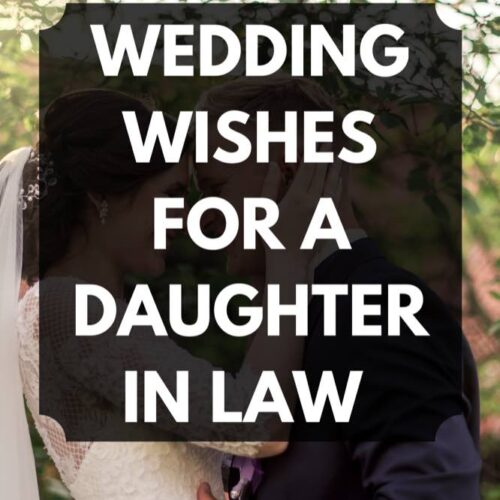 32 Wedding Wishes for a Daughter in Law