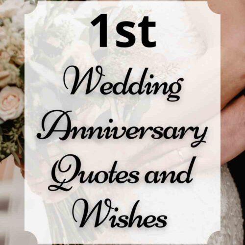 Happy 1st Wedding Anniversary Quotes (Paper Anniversary)