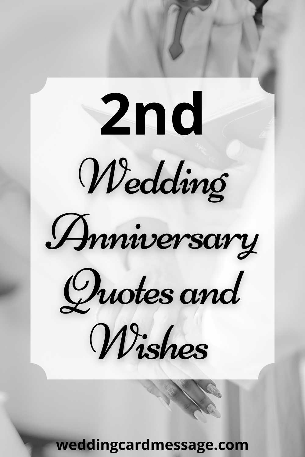 2nd anniversary quotes pinterest