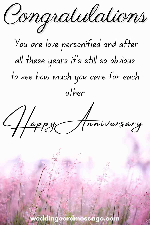 40th anniversary message
