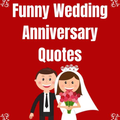 53 Funny Wedding Anniversary Quotes and Sayings