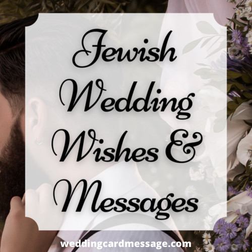 jewish wedding wishes and messages