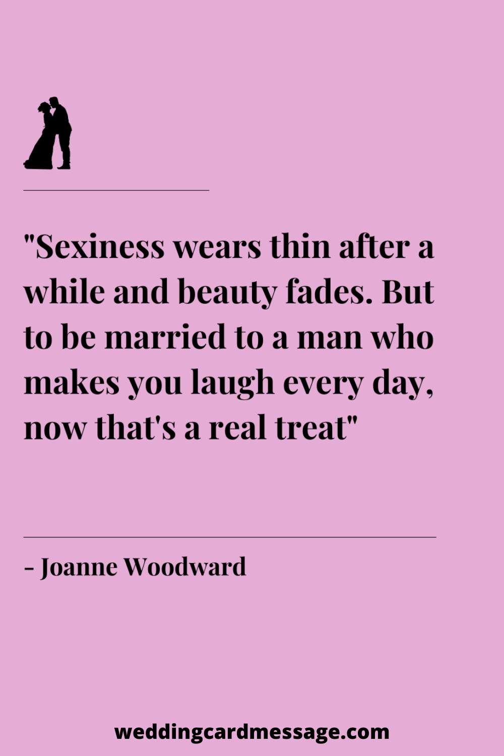 Joanne Woodward marriage quote