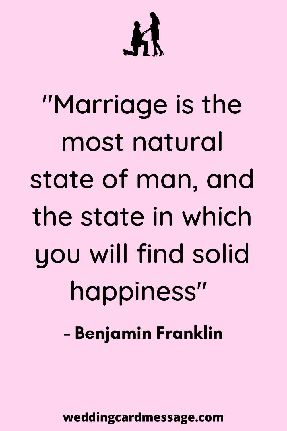 solid happiness marriage quote