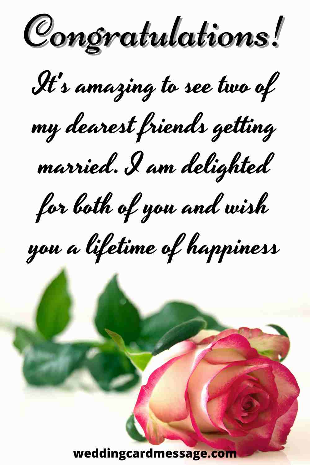 beautiful wedding wishes for friends