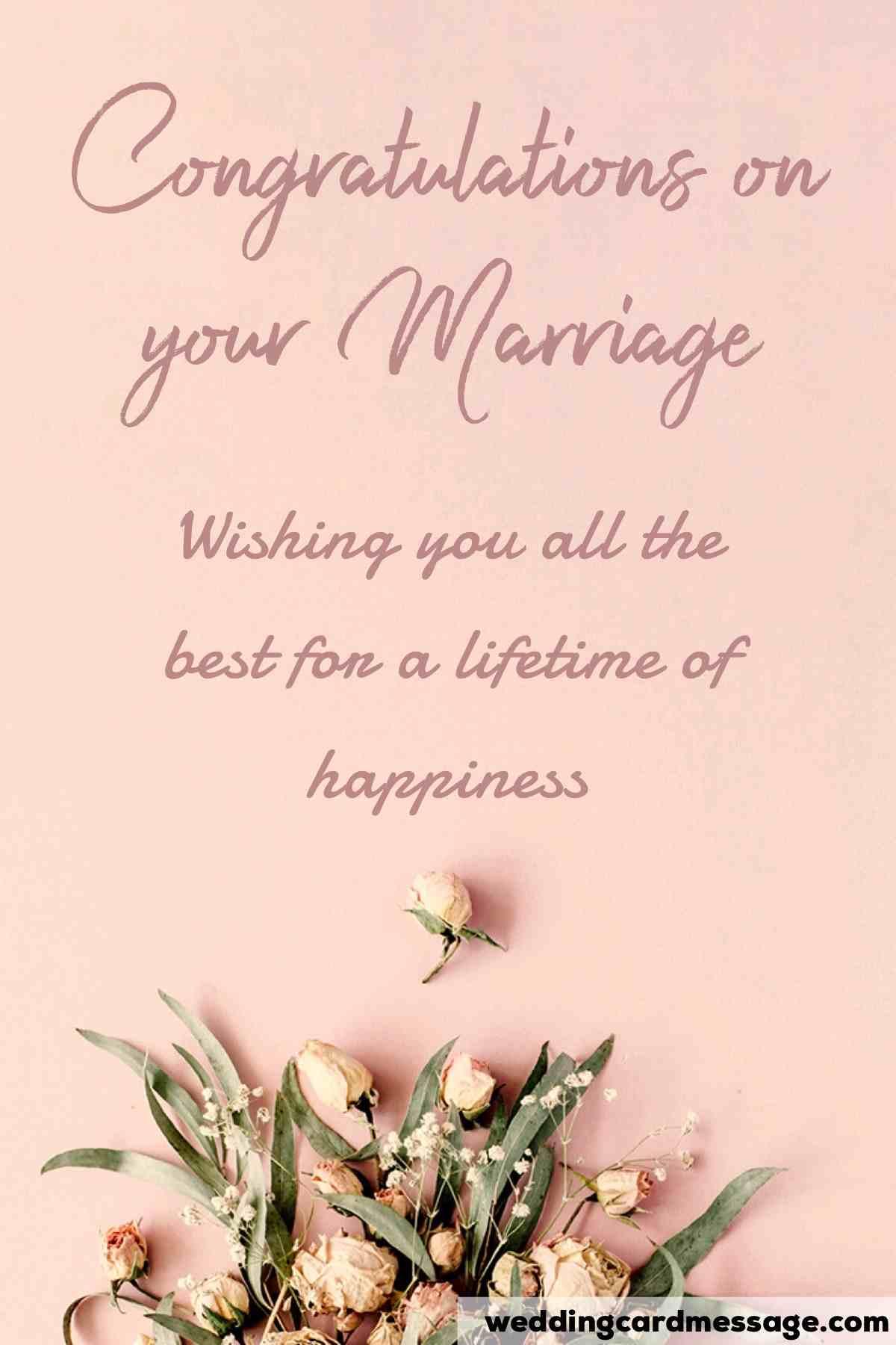 wedding congratulations from parents